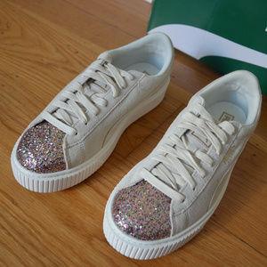 puma shoes glitter